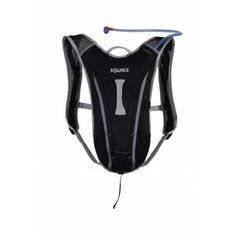 The Source Spinner is a hydration pack designed for extreme sport. Super light materials. Ergonomic and aerodynamic for perfect fit and performance.
