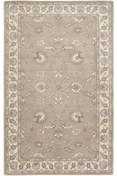 Palazzo Area Rug - Wool Rugs - Hand-tufted Rugs - Traditional Rugs - Border Rugs   HomeDecorators.com