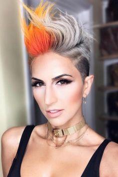 Die 178 Besten Bilder Von Ausgefallene Frisuren In 2019 Funky