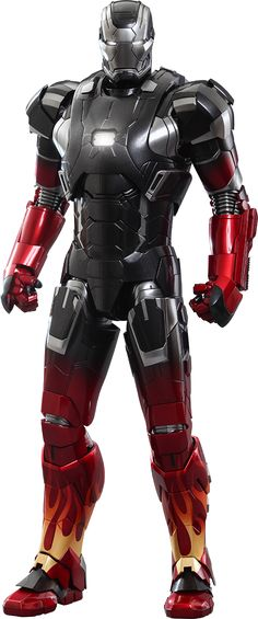 Hot Toys Iron Man Mark XXII - Hot Rod Sixth Scale Figure
