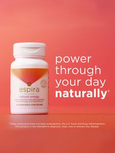 Going the extra mile has never been so easy! Take 1 capsule daily to increase your energy and focus.† †These statements have not been evaluated by the U.S. Food and Drug Administration. This product is not intended to diagnose, treat, cure or prevent any disease.