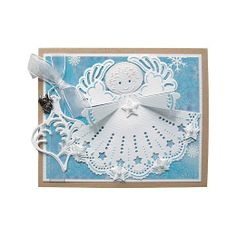Marianne Design Craftables Dies - Angel with Star CR1231 < Craft Shop | Cuddly Buddly Crafts