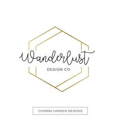 Gold Geometric Logo