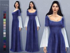 Evenstar - The Sims 4 Catalog Sims Medieval, Medieval Dress, Medieval Clothing, Sims 4 Cas, My Sims, Sims Cc, The Sims 4 Pack, Sims 4 Cc Packs, Maxis