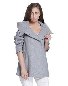 Vero Moda Vmcollar Wool Jacket Noos Manteau Femme Gris (Light Grey Melange) 36 (Taille Fabricant: Small) Lego Dc, Tunic Tops, Wool, Medium, Jackets, Fashion, Gray, Women's, Down Jackets