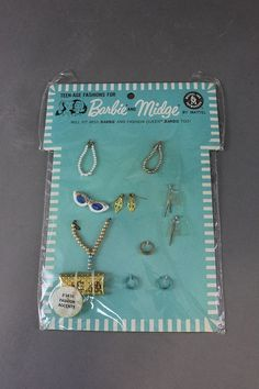 BARBIE NRF CARD - FASHION ACCENTS #1830