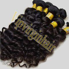 100% Virgin Brazilian Hair Natural Curly More from http://www.vipvirginhair.com/brazilian-virgin-hair-18inch-brazilian-hair-c-1_7.html