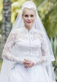 Flavia Alessandra em Eta mundo bom, cena casamento candinho