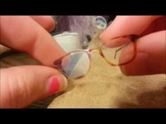 Glasses Tutorial :) - YouTube