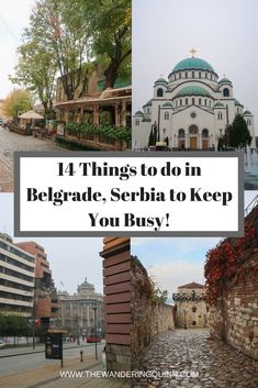 14 Things to do in Belgrade, Serbia to Keep You Busy! I went to Belgrade for a really quick city break. It's not an iconic city with lots to do but it is an interesting city and there is plenty to see whilst you are there so here is what I suggest you see and where I suggest you eat at! #serbia #belgrade #easterneurope #visitserbia #visitbelgrade