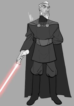Star Wars - Count Dooku by Mel Milton *