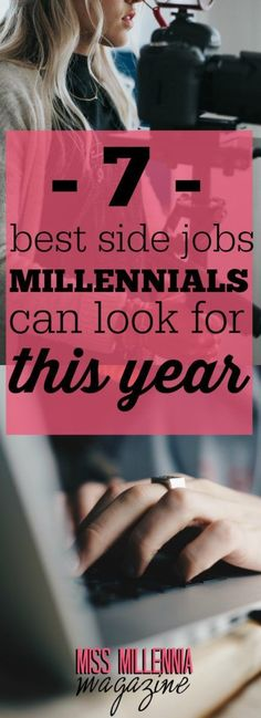 You'll find lots of platforms on which to advertise your services or find paid gigs, these days. Here are best side jobs for millennials in 2017