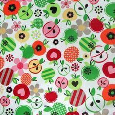 Diaper Sewing Supplies - Apple Dapple Print PUL Fabric, $12.95 (http://www.diapersewingsupplies.com/apple-dapple-print-pul-fabric/)