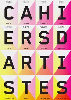 Cahiers d'Artistes : DEMIAN CONRAD DESIGN