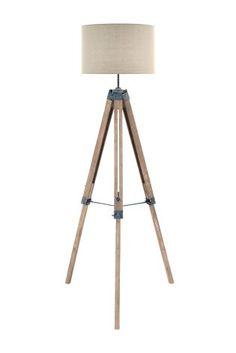 Buy Wooden Tripod Floor Lamp from the Next UK online shop