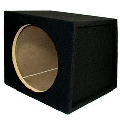 "Sycho Sound New Single Car Black Subwoofer Box Sealed Automotive Enclosure for 12-Inch Woofer 12S by Sycho Sound. $39.99. SpecificationsNew Sealed Enclosure12"" Woofer Hole is 11"" in DiameterBuilt-in Terminal with Gold Screw PostsFits Mostly All CarsConstructed with High Quality MDF Hardwood3/4"" MDF FaceEnclosure Volume is 1.25 Cubic FeetHeight 13"" x Length 16"" x Top Depth 12"" x Bottom Depth 15.5""Speaker Mounting Depth is 11.75""The Front (where the woofers loaded) is Flat a..."