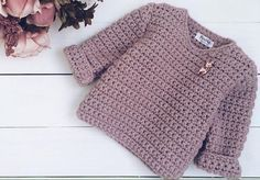 Click to view pattern for - Crochet warm pullover