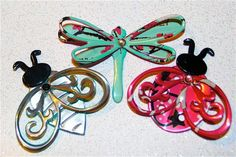 Crafting with Soda Cans | Soda Can Crafting / Recycled Soda Can Art SMALL Pink LadyBug Tea ...