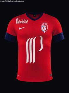 LOSC Lille 13/14 Nike Football Shirts