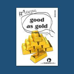 "#Neuseeland Kiwi Slang #1 ""good as gold""  www.Goldhandbooks.de"