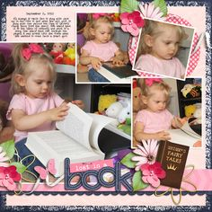 Juno was so adorable when she was looking at her copy of Grimm's Fairy Tales. :)    Credits:  Storytime by Britt-ish Designs  A time to remember by Britt-ish Designs