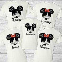 Disney Family Vacation Shirt  Mickey Mouse  Minnie Mouse