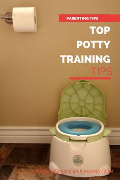 top potty training tips