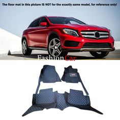 (73.10$)  Know more - http://ai2e6.worlditems.win/all/product.php?id=32760654220 - For BENZ GLA X156 2015 2016 Car Floor Mats