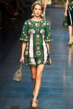 Dolce & Gabbana: Spring-Summer 2014 / Fashion blog / Fashion / Glamour Magazine Women