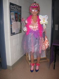 Practical teacher costume for fancy nancy literacy night ideas fancy nancy book character costume wore it to a family halloween fun night event at solutioingenieria Images