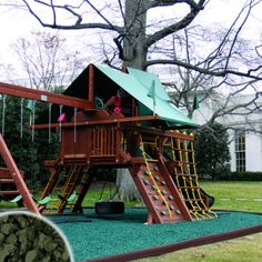 Obama First Family Playground at White House.
