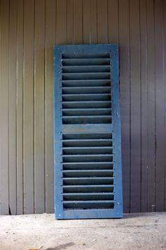 #Vintage #louvredoor #BlueLouvre #greatprop #placesandgraces #collection