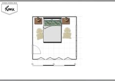 Room Service includes a personalised design breakdown, mood board with colour direction, a scaled floor plan with furniture layout, a detailed shopping list and budget with designer discounts. Master Bedroom Layout, Bedroom Layouts, Furniture Layout, Discount Designer, Interior Decorating, Floor Plans, Concept, Kit, Make It Yourself