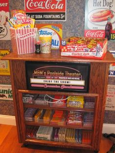 Concession Stand for Home Movie Night