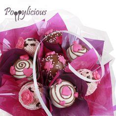 Valentijn Cake pop boeket www.poppylicious.nl