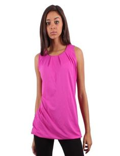 BAP Fashions Women's Fire Hot Pink Smocked Blouse BAP Fashions. $24.99