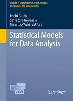 Statistical Models For Data Analysis By Paolo Giudici