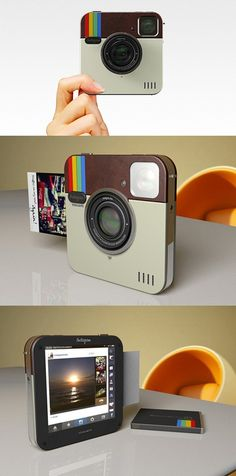 instagram camera that prints them out. This is just a Polaroid.. But I like it.