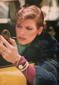 Gia Carangi for Vogue, 1979.