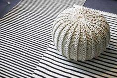 Bean Bag Chair, Ottoman, Decoration, Crochet, Summer, Diy, Furniture, Home Decor, Decor