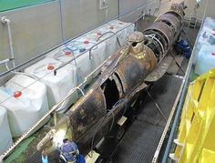 A century and a half after it sank and a decade and a half after it was raised, scientists are finally getting a look at the hull of the Confederate submarine H.L. Hunley, the first sub in history to sink an enemy warship.
