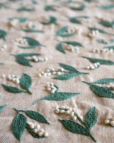 Deshilachado: El bordado de Yumiko Higuchi / Yumiko Higuchi embroidery