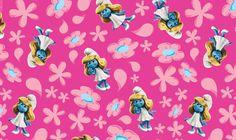 Disney Smurf Girl Fleece Fabric