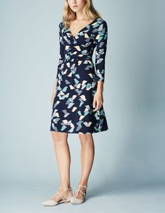 Elena Fixed Wrap Dress WH886 Smart Day at Boden  I own this in an 8 and it is perfect.