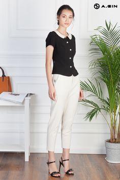 ao vest nu Vest, Style, Fashion, Black And White, Swag, Moda, Fashion Styles, Fashion Illustrations, Outfits