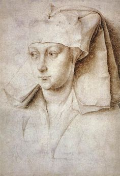 Rogier van der Weyden, Portrait of a Young Woman, 1440