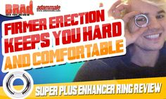 Rock Hard Cock Ring Support With Adam Male Support Plus Enhancer Ring
