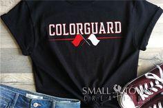 Game Day Shirts, Team Shirts, Color Guard Shirts, Marching Band Humor, Band Jokes, Cricut Craft Room, Print And Cut, Colorguard, Design Bundles