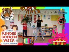 Kom Erbij! (makkelijk dansje) | Juf Sharon & Meester Nick | Kinderboekenweek 2018 - YouTube