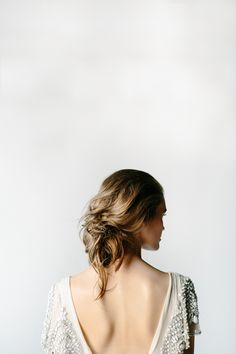 Whimsical Wedding Hair- all this time when i thought my hair was messy it was actually whimsical! Bridal Beauty, Bridal Hair, Pretty Hairstyles, Wedding Hairstyles, Sadies Dress, Body Positivity, Backless Wedding, Dress Wedding, Hair Wedding